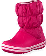 Crocs - Winter Puff Boot Kids Fuchsia-Bubblegum