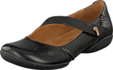 Clarks - Felicia Plum Black Leather