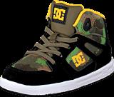 DC Shoes - Tod Rebound Se Ul Shoe Black/Camoflage