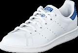 Adidas Originals - Stan Smith J Ftwr White/Eqt Blue S16