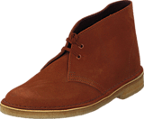 Clarks - Desert Boot Dark Tan