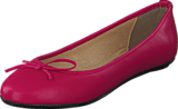 Park West - Leather Ballerina Classic Fuchsia
