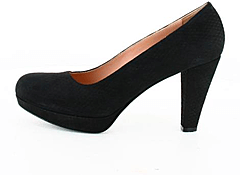 Sand - Pumps Printed Black