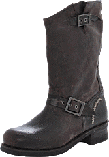 Harley Davidson - 422 Boot Dark Brown Waxed Lthr