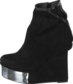 V Ave Shoe Repair - Plate Boot Black