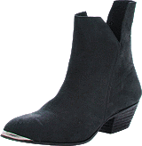 Black Lily - Rocker Ancle Boot Black