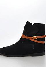 Black Lily - Racing Fur Boot Black