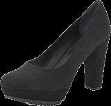 Gardenia - Shoe Plateau w Heavy Sole Black