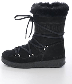 Moon Boot - Butter Mid JR Black