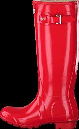 Hunter - Original Tall Gloss Pillar Box Red