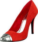 China Girl - Pointy Pumps Orange