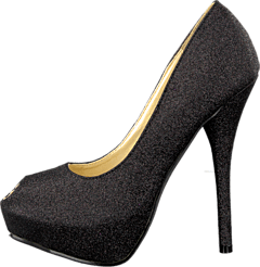 Sugarfree Shoes - Malina Black