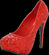 Sugarfree Shoes - Emma Red