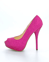 Sugarfree Shoes - Malina Pink