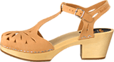 Swedish Hasbeens - Lacy sandal nature