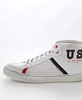 U.S. Polo Assn - Wear High Whi/Bl
