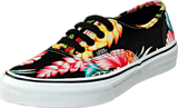 Vans - K Authentic Hawaiian Flora Black