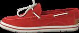 Timberland - EK Casco Bay Boat Shoe Dark Red Suede
