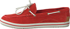 Timberland - EK Casco Bay Boat Shoe Dark Red Suede