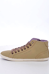 Le Coq Sportif - Velizy Mid Taupe Mid