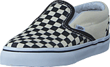 Vans - T Classic Slip-On Black And White Checker/White
