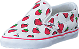 Vans - Classic Slip-On (Strawberries) True White
