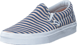 Vans - Classic Slip-On (Stripes) Navy