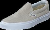 Vans - Classic Slip-On (Chambray) Gray/True White