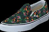 Vans - Classic Slip-On (Chambray) Parrot/True White