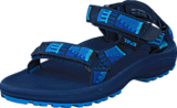 Teva - Hurricane 2 Peaks Bright Blue / Grey