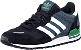 adidas Originals - Zx 700 Core Black/White/Fade Ocean