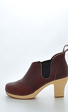 Swedish Hasbeens - Stretch it Inma Bordeaux