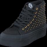 Vans - U SK8-HI Platform Studded Black