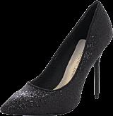 Sugarfree Shoes - Sally Black Glitter