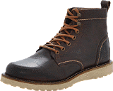 Jack & Jones - JJ Pepper Leather Dark Brown
