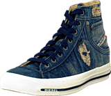 Diesel - Exposure I Blue Ripped Denim