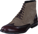 Mentor - Brogue Ankle Boot Bordeaux