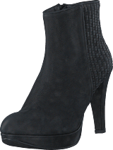 Mentor - Interlaced Ankle Boot Black Washed