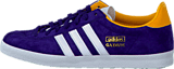 adidas Originals - Gazelle Og W Dark Purple/White/Gold