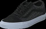 Vans - Old Skool (Suede Checkers) black