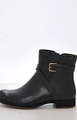 Ecco - Saunter Mid Cut Zip Black