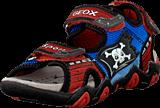 Geox - Jr Sandal Strike Dk Orange/Royal