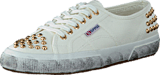 Superga - 2750-COTSTUDS White Gold