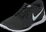 Nike - Wmns Nike Free 5.0 Black/White-Dark Grey-Dv Grey
