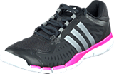 adidas Sport Performance - A.T. 360 Control Black/Tech Grey/Solar Pink