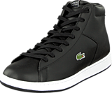 Lacoste - Carnaby Evo Mid Crt Blk/Gry Lth