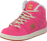 DC Shoes - Kids Rebound Wnt Shoe Rose Shadow