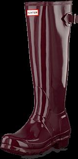 Hunter - Original Back Adjust Gloss Burgundy