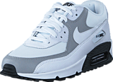 Nike - Wmns Air Max 90 White/White-Wolf Grey-Black