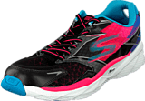 Skechers - Go Run 4 Ride Black/coral